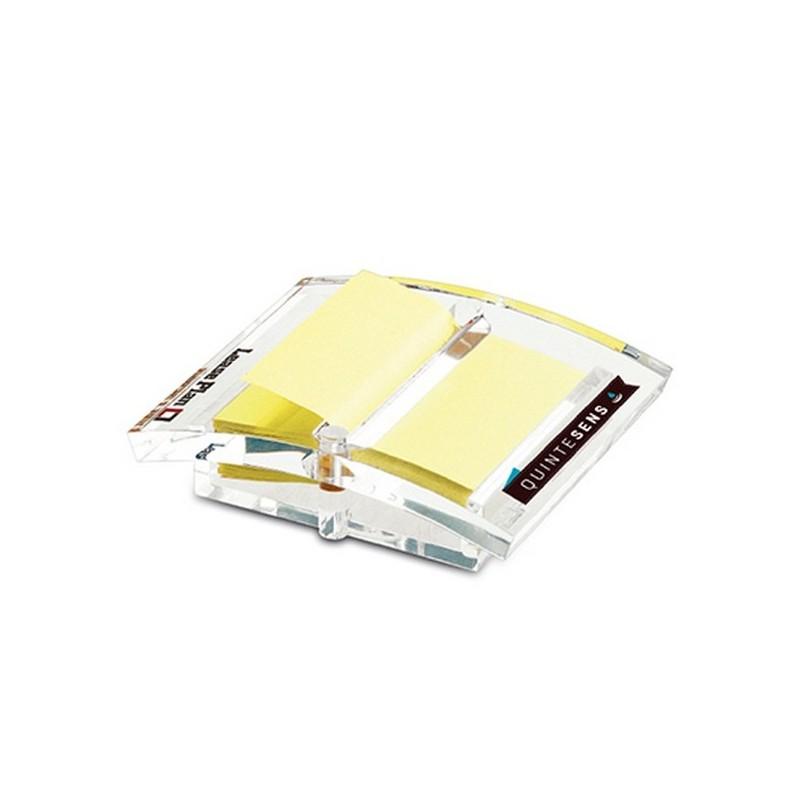 Distributeur z-note pmma trans - Support notes adhésives à prix de gros