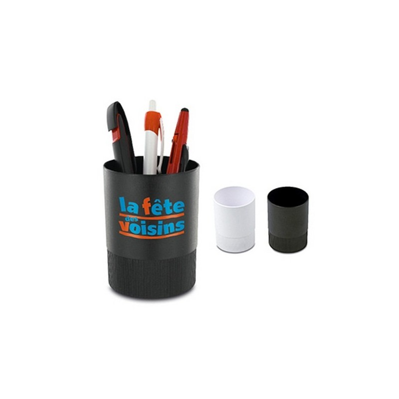 Pot a crayons plastique - Pot à crayons à prix grossiste