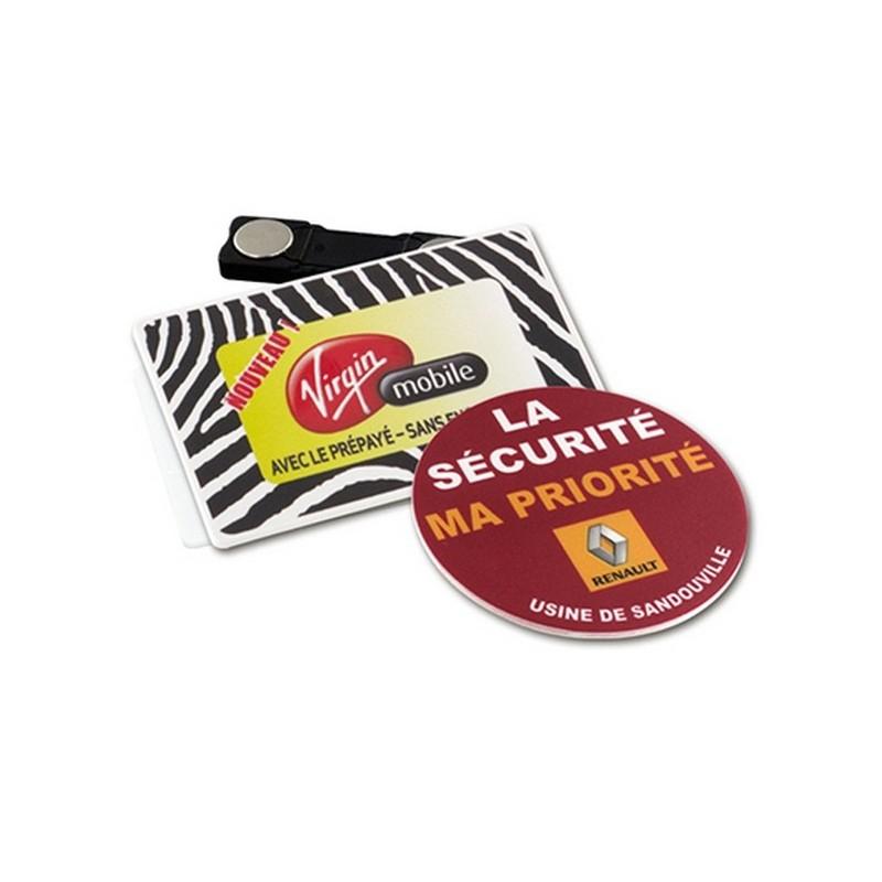 Badge avec aimant - Badge à prix de gros