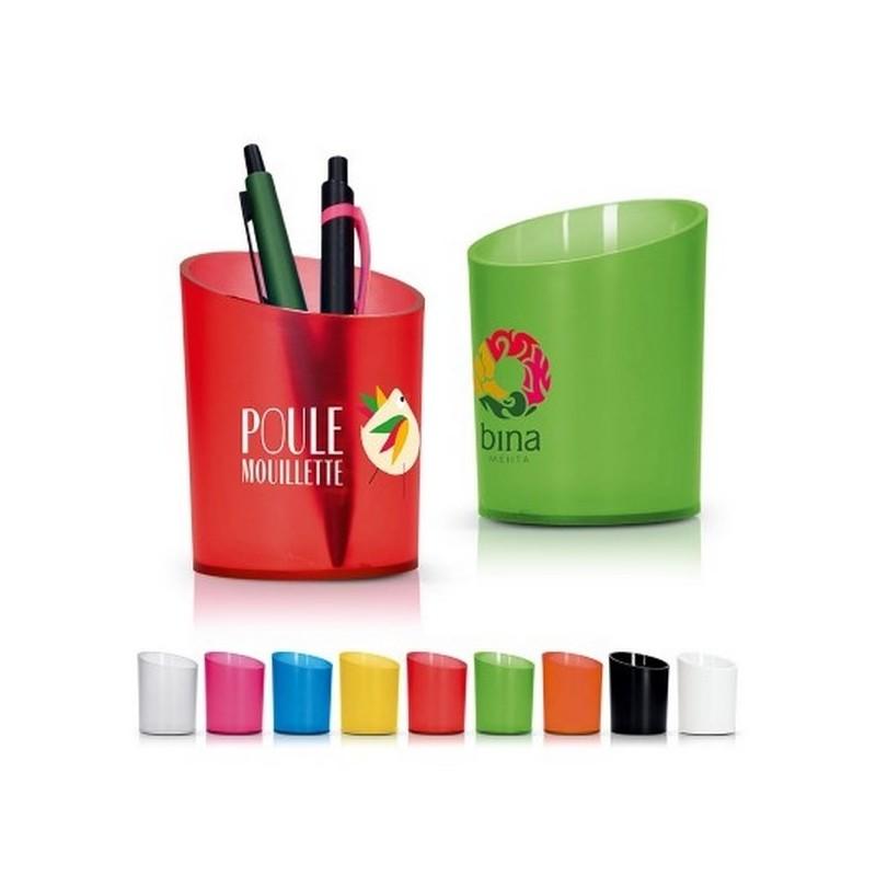 Pot a crayons plastique - Pot à crayons à prix de gros