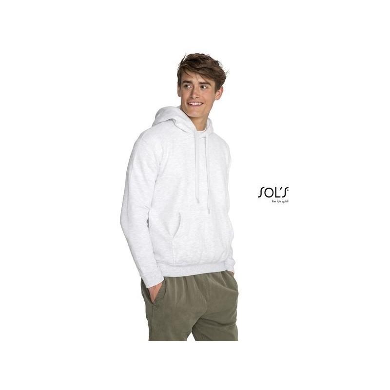 Sweat-shirt unisexe à capuche - SNAKE Blanc à prix grossiste - Sweat-shirt à prix de gros