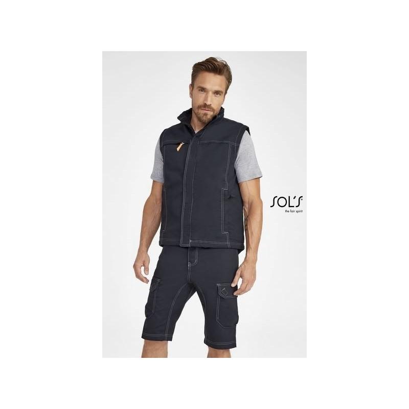 Bermuda unicolore workwear homme - RANGER PRO - 48+ à prix grossiste - Bermuda à prix de gros