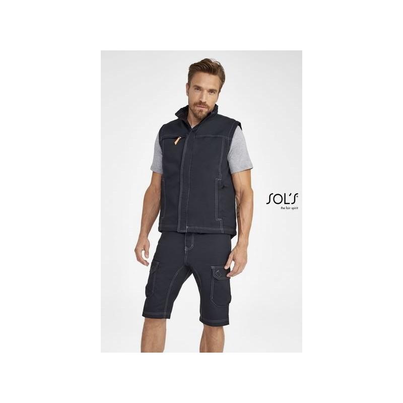 Bodywarmer unicolore workwear homme - WORKER PRO 3XL - Bodywarmer à prix de gros