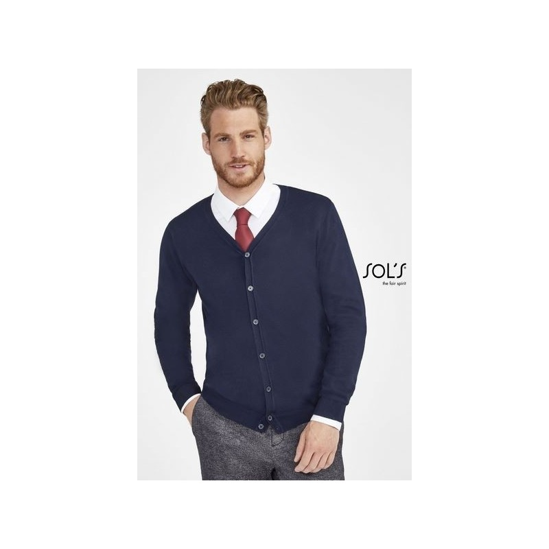 Cardigan homme col v - GRIFFITH 3XL - Pull homme à prix grossiste