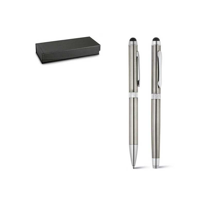 CANNES. Set stylo roller et stylo à bille à prix de gros - Parure de stylos à prix grossiste
