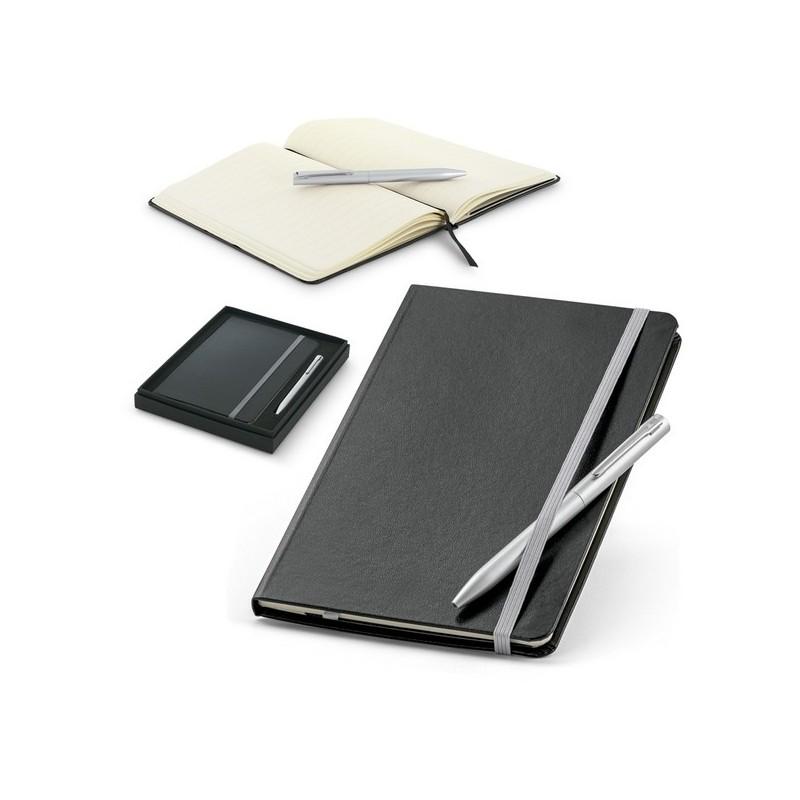 MORAES. Coffret stylo à bille et bloc-notes - Stylo à prix de gros