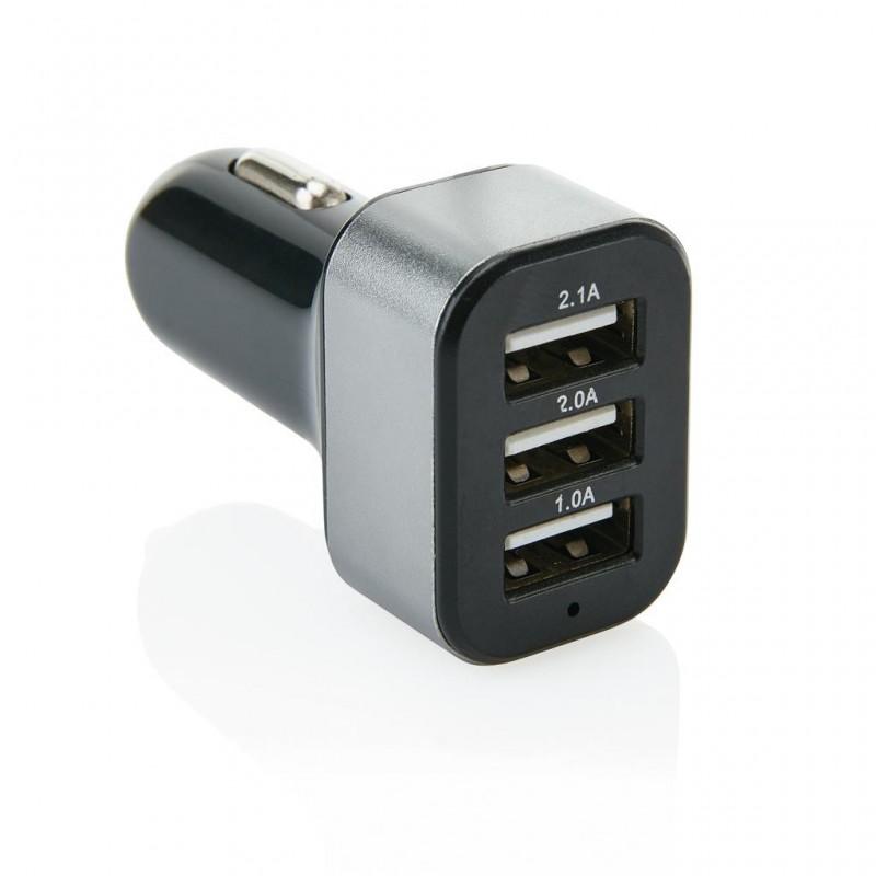 Triple chargeur allume-cigare USB 3.1A - Accessoire pour tablettes à prix de gros