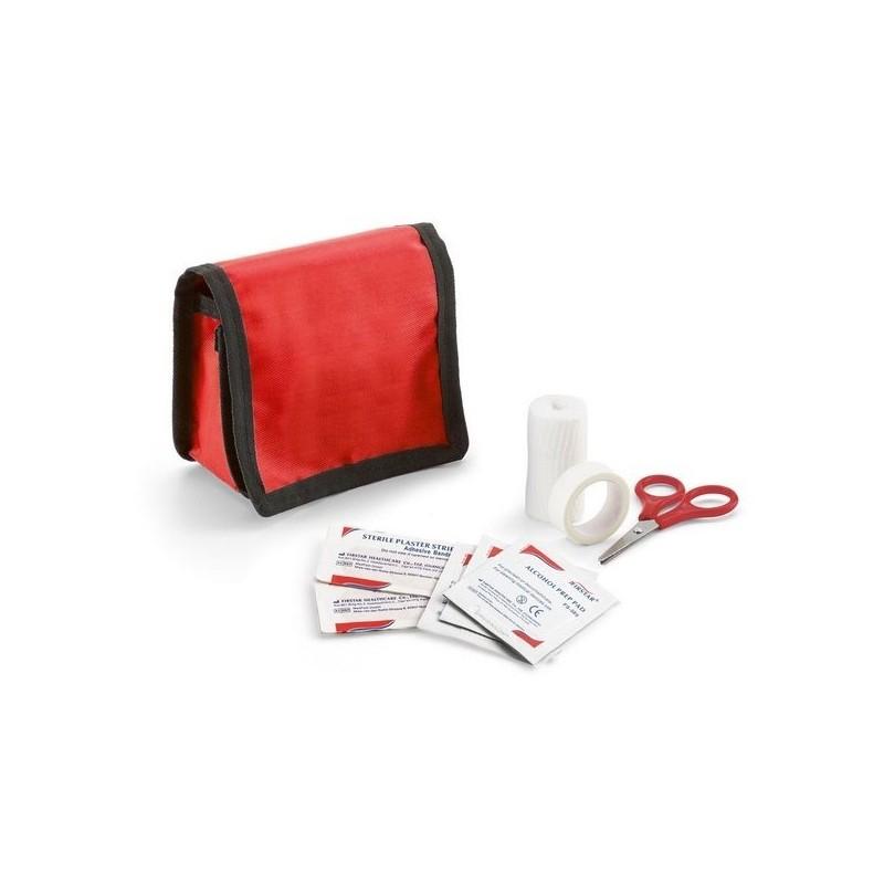 KYLE. Kit premiers soins à prix grossiste - Kit de survie à prix de gros
