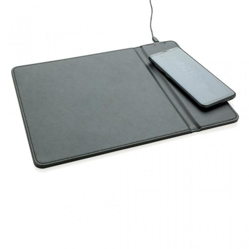Tapis de souris avec chargeur à induction 5W à prix de gros - Tapis de souris à prix grossiste