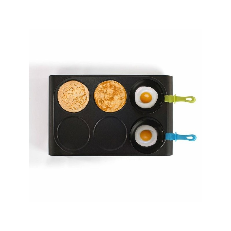 Set mini woks, crêpière et gril - crêpière à prix grossiste