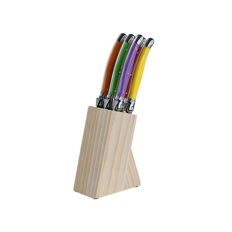 Set de 6 couteaux Laguiole - Couvert à prix grossiste
