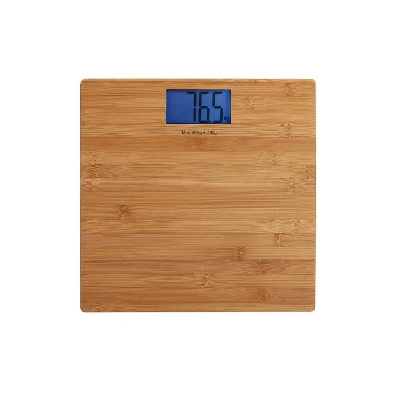 Pèse-personne électronique bambou - Pèse-personne à prix de gros