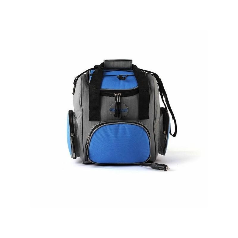 Glacière électrique souple 16 L bleue - Accessoire de pique-nique à prix grossiste