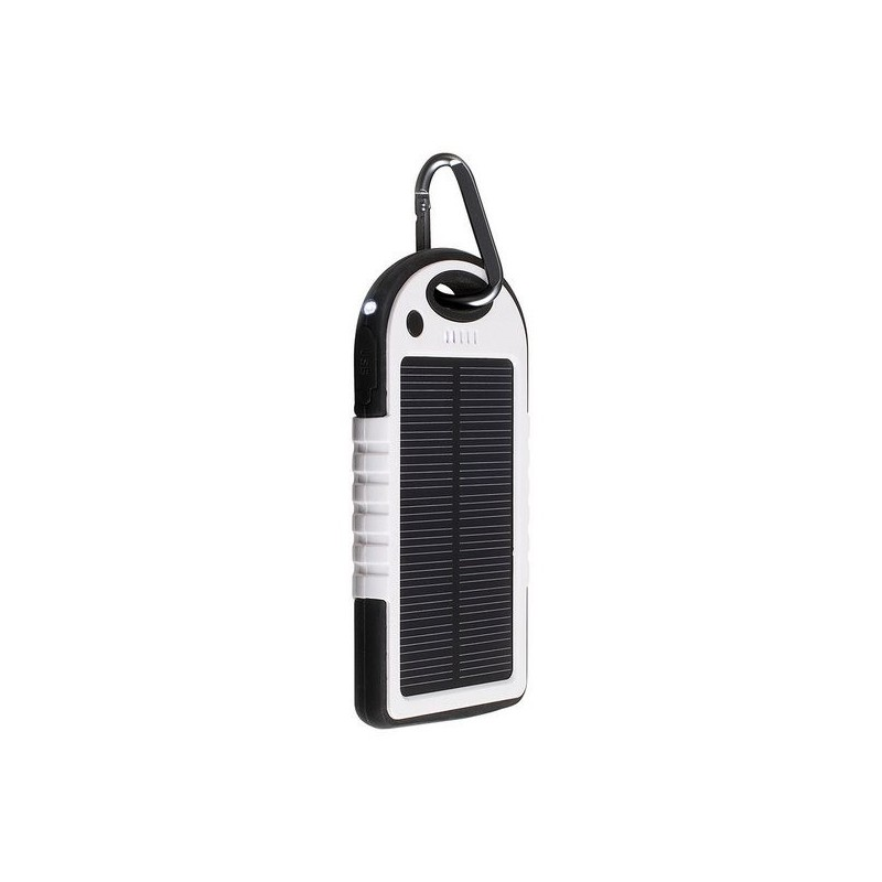 LIVOO - Batterie de secours solaire noir - Produit à énergie solaire à prix grossiste