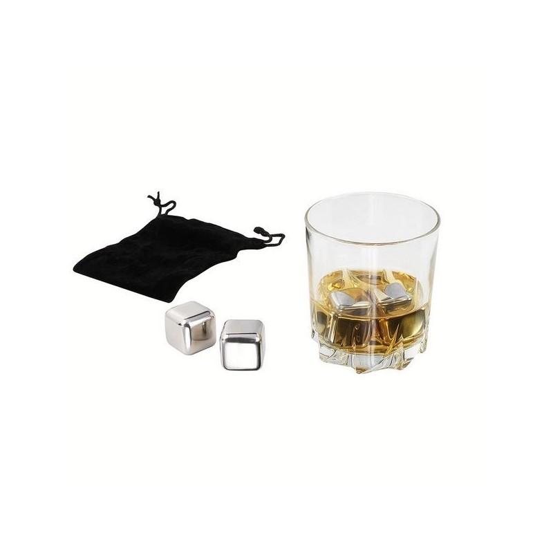 Set de 4 glaçons spécial whisky à prix de gros - Matériel de camping à prix grossiste
