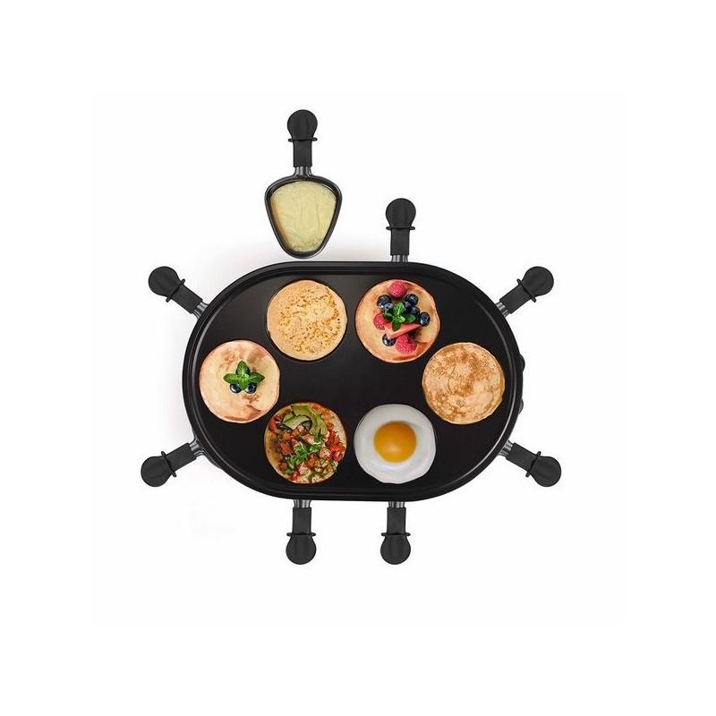 Appareil à raclette et mini-crêpes à prix de gros - crêpière à prix grossiste