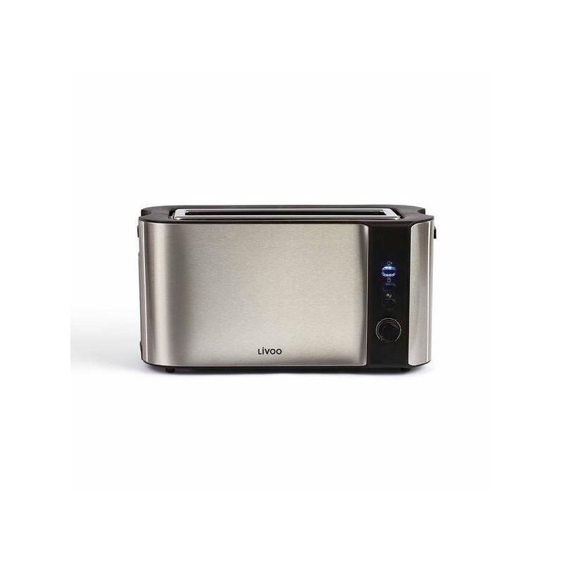 Grille-pain acier inoxydable large fente - Accessoire d'electroménager à prix grossiste