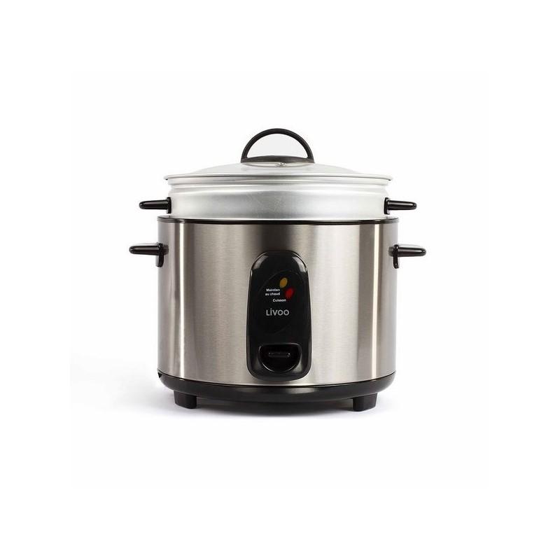 Cuiseur à riz et vapeur acier inoxydable à prix grossiste - Accessoire d'electroménager à prix de gros
