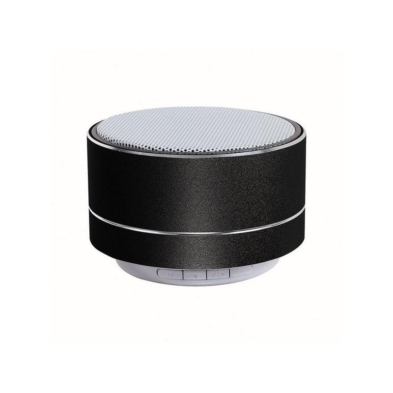 Haut-parleur compatible Bluetooth® noir - Poste de radio à prix de gros