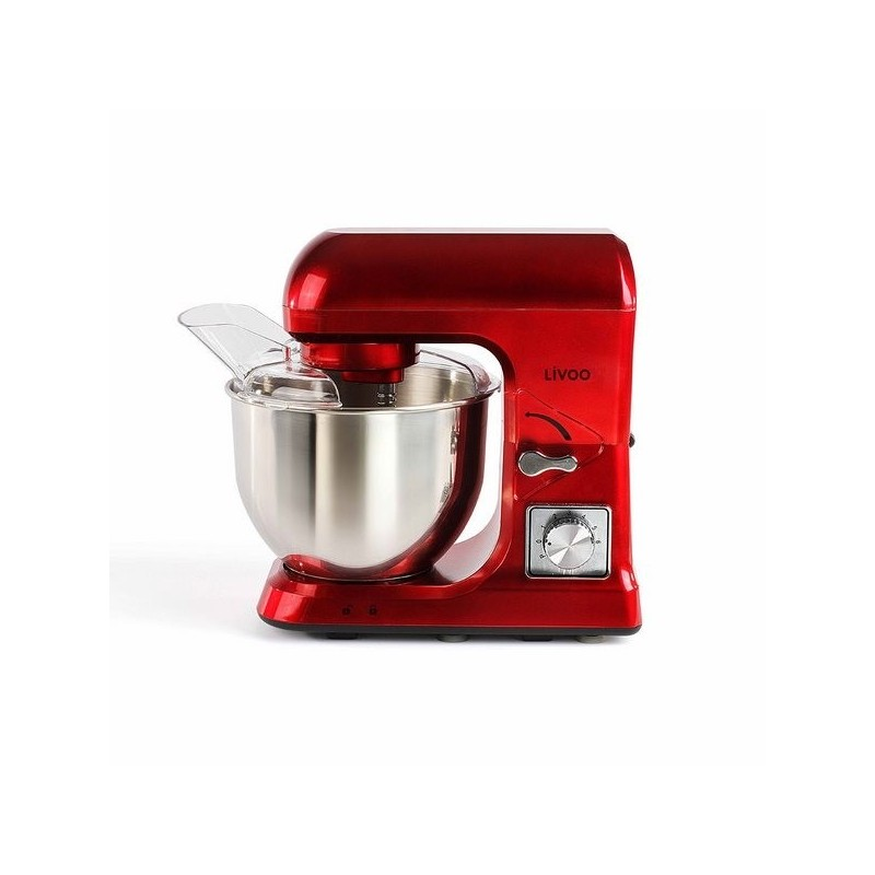 LIVOO - Robot pâtissier rouge - Mixeur à prix de gros