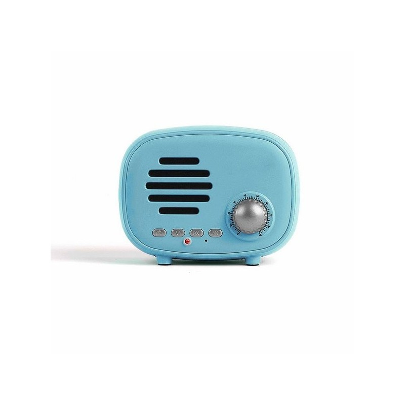 LIVOO - Haut-parleur compatible Bluetooth® bleu à prix grossiste - Poste de radio à prix de gros