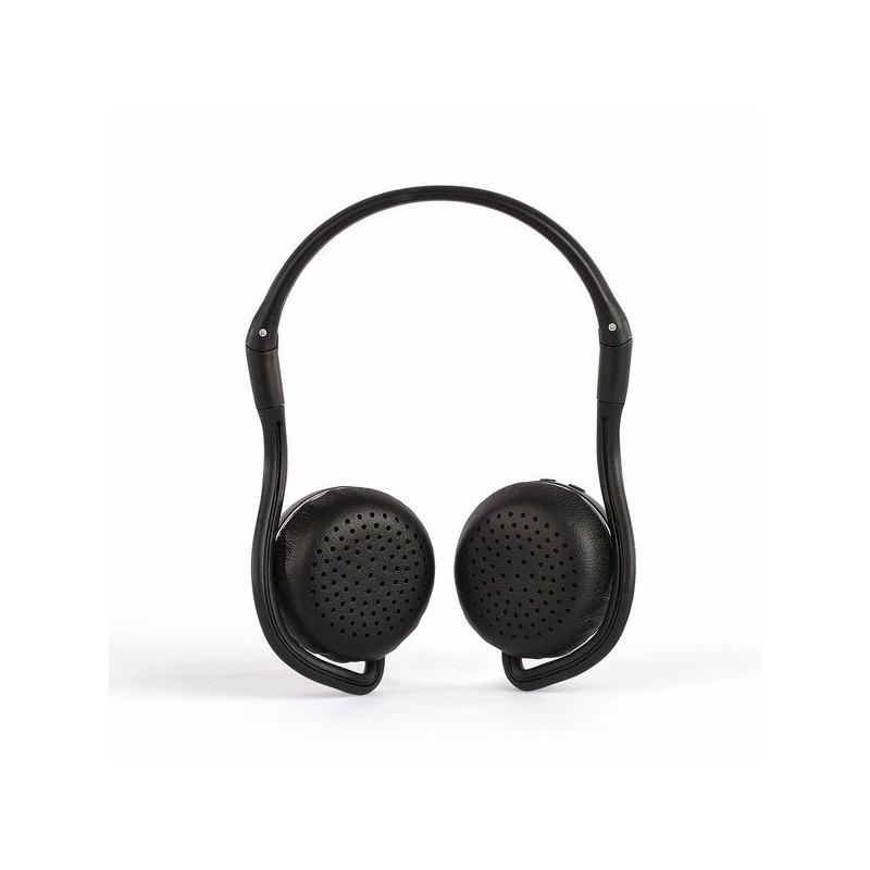 Casque sport compatible Bluetooth® Noir à prix grossiste - Casque audio à prix de gros