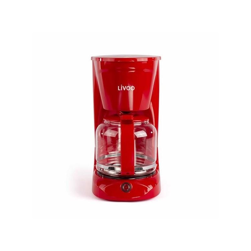 LIVOO - Cafetière électrique noire 15 tasses - Accessoire d'electroménager à prix grossiste