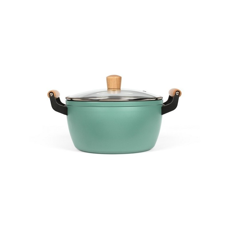 LIVOO - Faitout poignées bois - Ustensile de cuisine à prix de gros