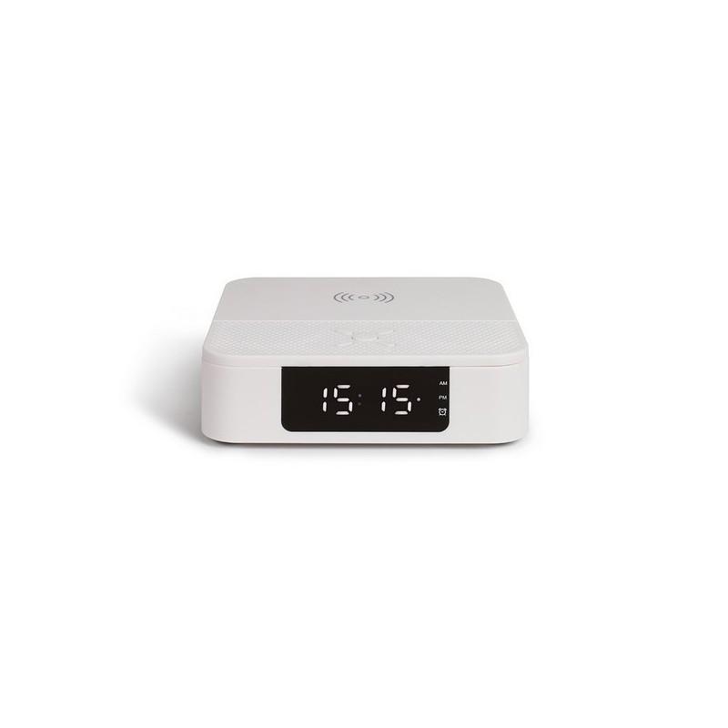Enceinte réveil chargeur sans fil 10 Watts - Accessoires de téléphone à prix de gros