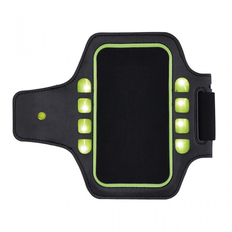 Brassard sport avec LED - accessoire de running à prix grossiste