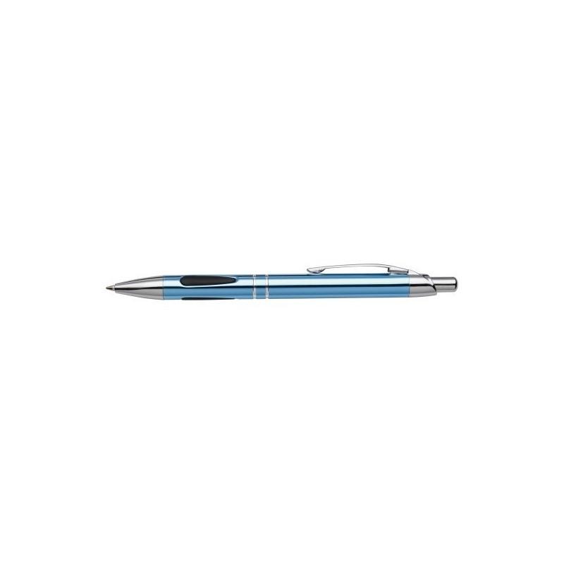 Stylo bille en métal - Encre bleue à prix grossiste - Stylo à prix de gros