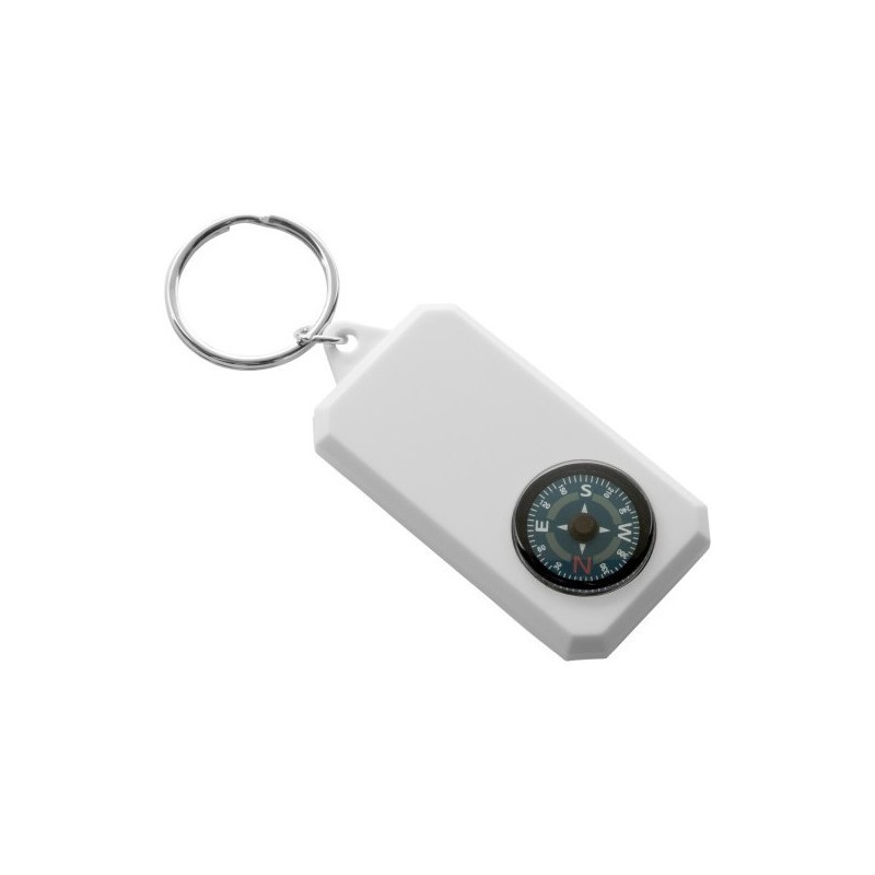 Porte-clés boussole à prix de gros - Porte-clés 2 usages à prix grossiste