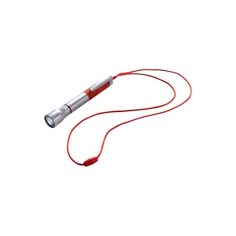 Torche 2 LEDs avec stylo bille à prix de gros - Accessoire de bricolage à prix grossiste