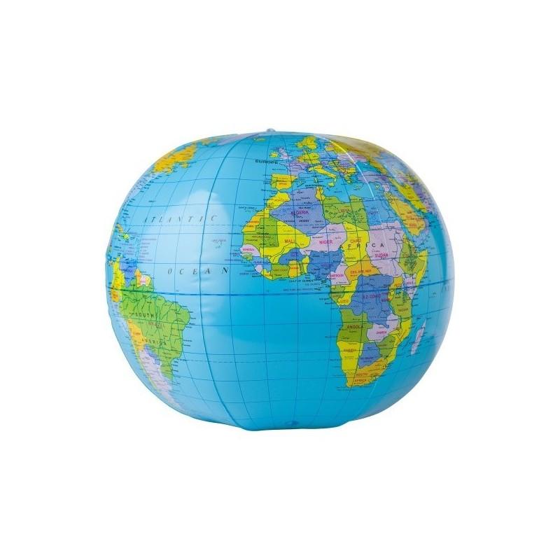 Ballon de plage 'Globe' à prix de gros - Ballon de plage à prix grossiste