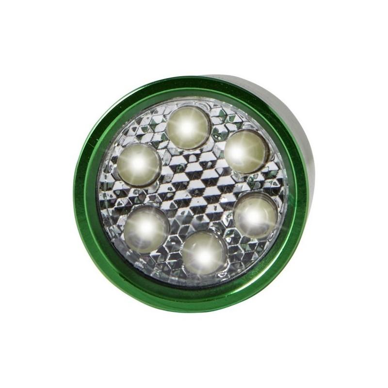 Torche en aluminium munie de 6 LEDS à prix de gros - Porte-clés lampe à prix grossiste