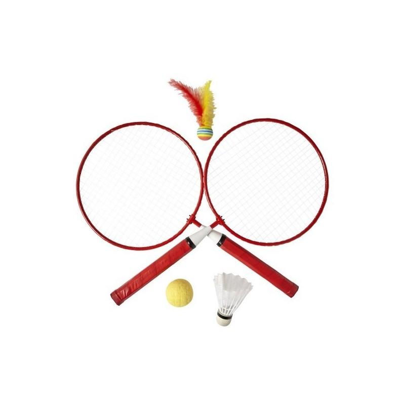 Set de 2 raquettes de badminton à prix grossiste - Jeu de badminton à prix de gros