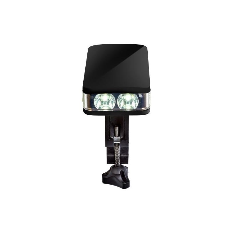 Lampe à vélo amovible en plastique - Lumière vélo à prix de gros