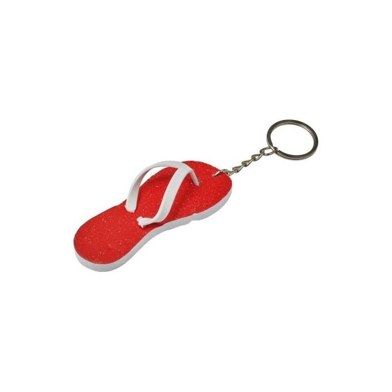 Porte-clés 'tongs' en EVA. - Porte-clés à prix de gros