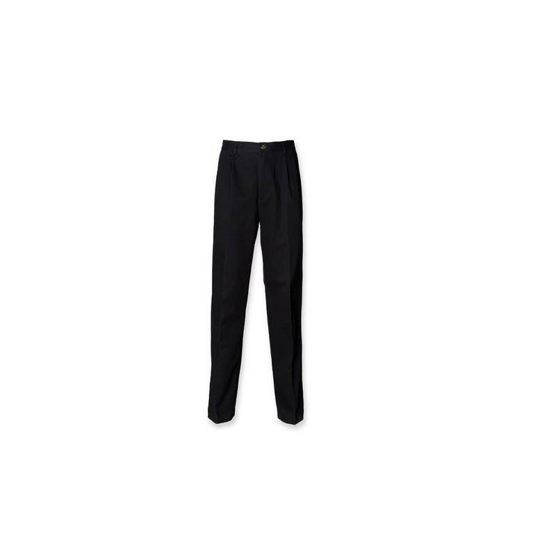 CHINO TROUSERS - Pantalon homme à pinces - pantalon à prix grossiste