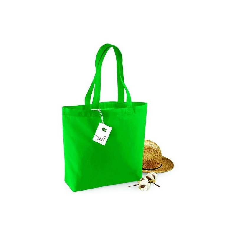 Organic Cotton Shopper - Sac shopping en coton bio - Naturel à prix de gros - Sac naturel à prix grossiste