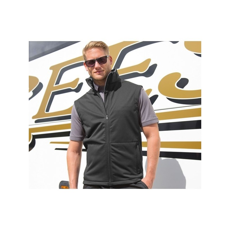 Core Soft-Shell Bodywarmer - Bodywarmer Soft-Shell Essentiel - Softshell à prix grossiste