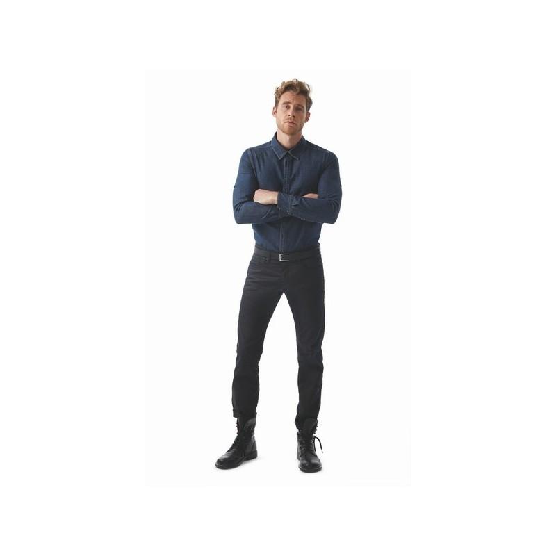 Vision Men - Chemise homme denim - chemise en jean à prix grossiste