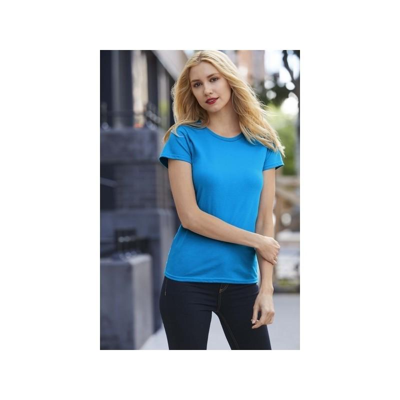 PREMIUM COTTON LADIES' TEE - Tee-shirt femme col rond 185 à prix de gros - T-shirt femme à prix grossiste