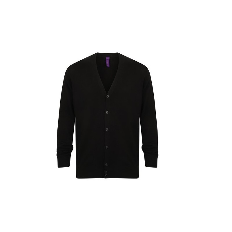 Men'S V Button Cardigan - Gilet homme - Pull homme à prix grossiste