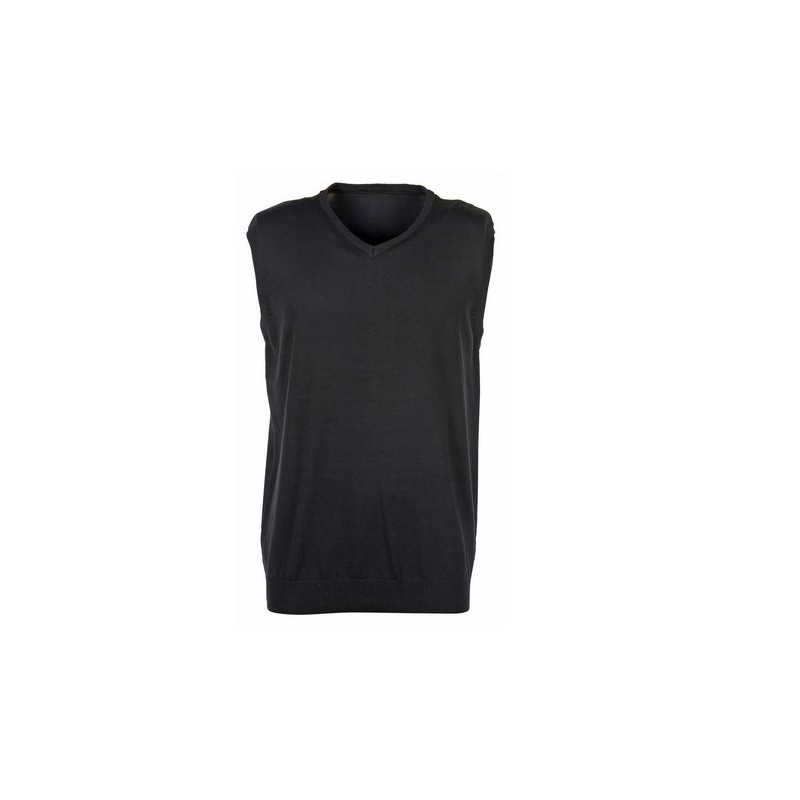 Sleeveless - Pull sans manches col V - Pull homme à prix grossiste