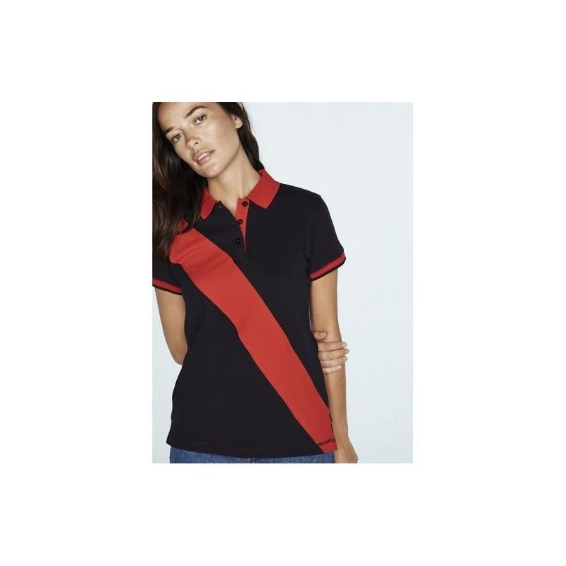 Ladies' Diagonal Stripe Polo - Polo piqué femme bande diagonale - Polo femme à prix de gros