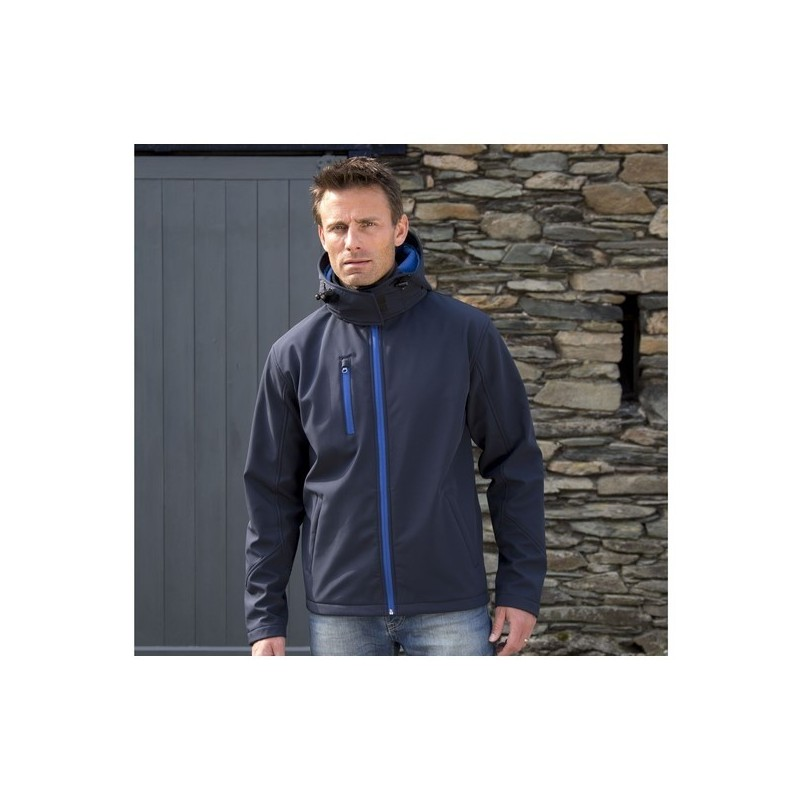 Performance Hooded Jacket Men - Veste Soft-Shell homme à capuche à prix grossiste - Softshell à prix de gros