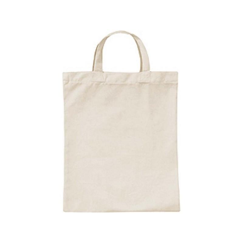 Petit Sac Coton - Petit sac en 100% coton - Blanc à prix grossiste - Sac à prix de gros