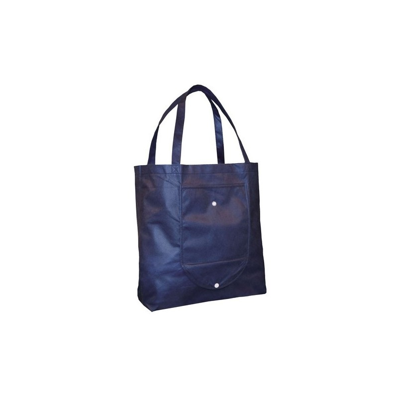 Sac Shopping Emma - Sac shopper repliable en polypropylène non tissé - Sac non tissé à prix grossiste
