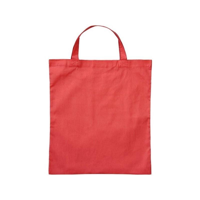 Basic Shopper Cotton Bag - Sac coton petites anses - Blanc - Sac à prix grossiste